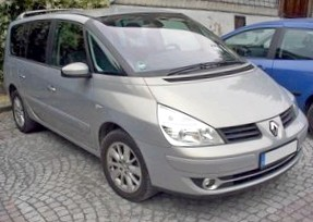 Отзыв об автомобиле RENAULT Espace (РЕНО Эспейс), 1,9-L, минивэн, МКПП, 2005 г.в.