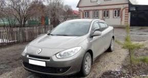 Отзыв об автомобиле RENAULT Fluence (РЕНО Флюенс), 1,6-L , седан, МКПП, 2010 г.в.
