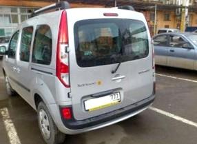 Отзыв об автомобиле RENAULT Kangoo (РЕНО Кангу),  1,5-L dCi, минивэн, МКПП, 2008 г.в.