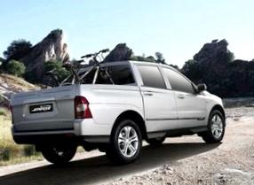 Отзыв об автомобиле SsangYong Actyon Sports (СсангЙонг Актион Спортс), пикап, 2,0-L D20DTR, МКПП, 4WD, 2012 г.в.