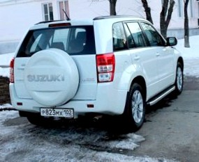 Отзыв об автомобиле Сузуки Гранд Витара (Suzuki Grand Vitara), 2,0-L , кроссовер(SUV), МКПП, 4WD, 2005 г.в.