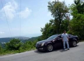 Отзыв об Каддилак ЦТС  (Cadillac CTS), седан,  4WD, АКПП, 3.6-L, 2008 г.в.