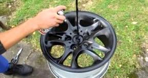 Покраска колесных дисков своими руками. Последовательность работ