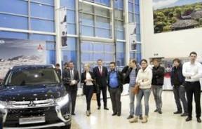 Праздник «Фудзияма» в честь обновленного Mitsubishi Outlander