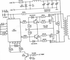 Простой инвертор 12-220 Вольт на 100 ватт