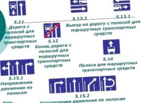 Штраф за езду по полосе общественного транспорта в 2016 году