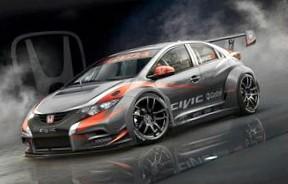 Спортивный автомобиль от Honda: Honda Civic WTCC 2014