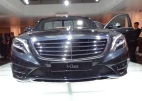 Стала известна новая модель S-класса Mercedes