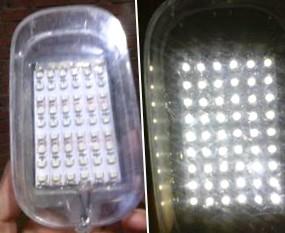 Светильник на светодиодах от прикуривателя своими руками