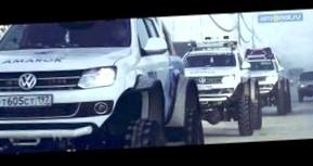 Тестирование Volkswagen Amarok в Якутске