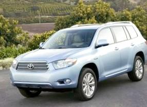 Toyota Highlander – не совсем классический внедорожник