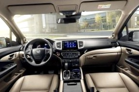 Третья версия Honda Pilot выйдет летом 2015. Фото.