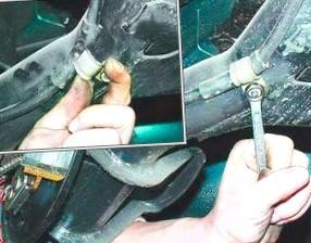 Трос ручного тормоза и его замена