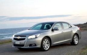 В России начали сборку авто Chevrolet Malibu