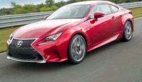 В следующем году в продажу поступит новое купе Lexus RC