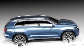 Volkswagen готовит новый кроссовер между Tiguan и Touareg