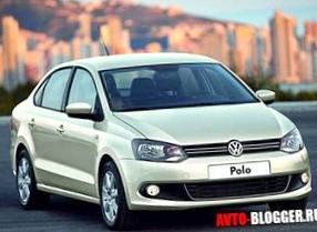 Volkswagen Polo Sedan: Специально для России