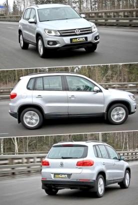 Volkswagen Tiguan 2.0 TDI: Коктейль из драйва и консерватизма