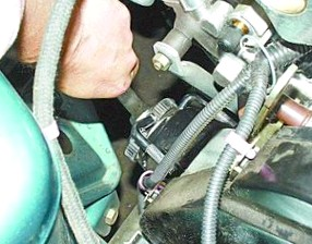 Замена масла и масляного фильтра в двигателе