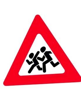 Знак «Осторожно, дети!» и его особенности