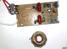 ЗУ из электронного трансформатора — умощнение